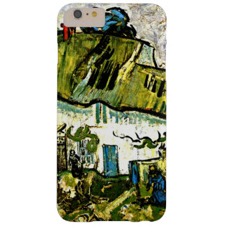 Van Gogh - cortijo con dos figuras Funda Para iPhone 6 Plus Barely There