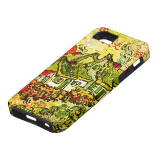 Van Gogh Cottages Cypresses Reminiscence N F675 iPhone 5 Covers