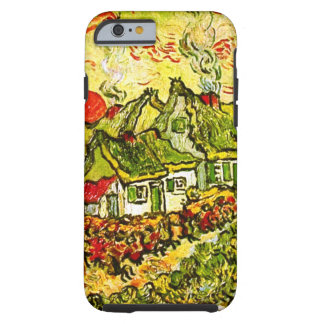 Van Gogh Cottages Cypresses Reminiscence N F675 iPhone 6 Case