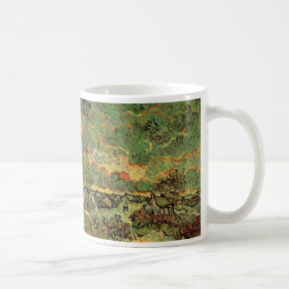 Van Gogh Cottages Cypresses Reminiscence of North Coffee Mug