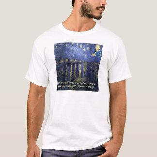 Van Gogh Courage Quote T-Shirt