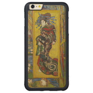 Van Gogh Courtesan after Eisen Carved Maple iPhone 6 Plus Bumper Case