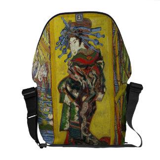 Van Gogh Courtesan after Eisen Messenger Bag