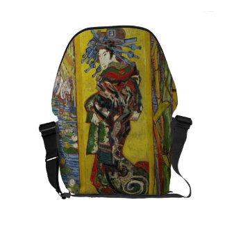 Van Gogh Courtesan after Eisen Small Messenger Bag