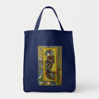 Van Gogh Courtesan after Eisen Tote Bag