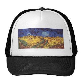 Van Gogh Crows Mesh Hat
