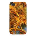 Van Gogh: Cuatro girasoles iPhone 4 Carcasa