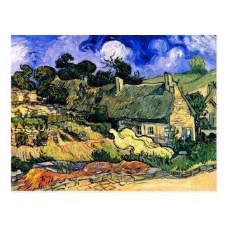Van Gogh cubrió con paja el vintage fino de Cordev Tarjetas Postales