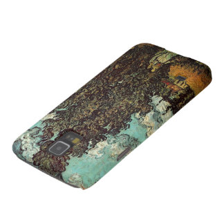 Van Gogh Cypresses and Two Women, Vintage Fine Art Galaxy S5 Cover