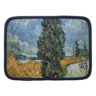 Van Gogh Cypresses Folio Planners
