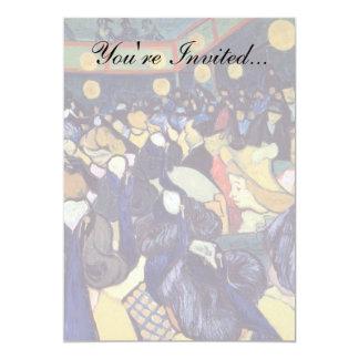 """Van Gogh - danza pasillo en Arles Invitación 5"""" X 7"""""""