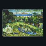 "Van Gogh - Daubigny&#39;s Garden, 1890 Placemat<br><div class=""desc"">Vincent van Gogh landscape painting,  Daubigny&#39;s Garden</div>"