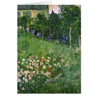 Van Gogh Daubigny's Garden (F765) Fine Art Stationery Note Card