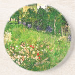 Van Gogh Daubigny's Garden (F765) Fine Art Drink Coasters
