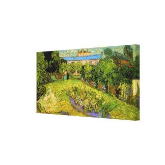 Van Gogh Daubigny's Garden, Le Jardin de Daubigny Stretched Canvas Prints
