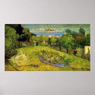Le jardin posters zazzle for Jardin a auvers van gogh