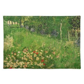 Van Gogh Daubigny's Garden, Vintage Fine Art Placemat