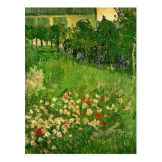 Van Gogh Daubigny's Garden, Vintage Fine Art Postcard