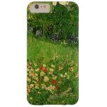 Van Gogh Daubigny's Garden, Vintage Flowers Art Barely There iPhone 6 Plus Case