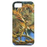 ~ Van Gogh de los girasoles F. 376 iPhone 5 Cobertura