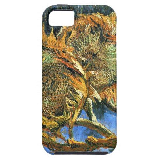 ~ Van Gogh de los girasoles F. 376 Funda Para iPhone SE/5/5s