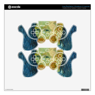 Van Gogh Decal For PS3 Controller