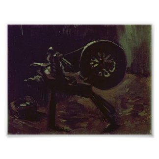 Van Gogh - devanadera de la bobina Impresiones