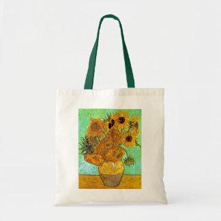 Van Gogh - doce girasoles Bolsa Tela Barata