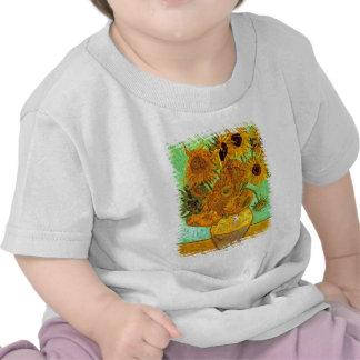 Van Gogh - doce girasoles Camiseta