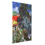 Van Gogh - Doctor Gachets Garden In Auvers Gallery Wrap Canvas