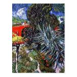 Van Gogh - Doctor Gachets Garden In Auvers Postcards