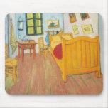 Van Gogh - dormitorio en Arles (1889) Tapetes De Raton