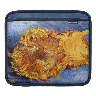 Van Gogh Dos girasoles cortados Mangas De iPad