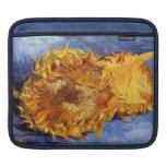 Van Gogh: Dos girasoles cortados Mangas De iPad