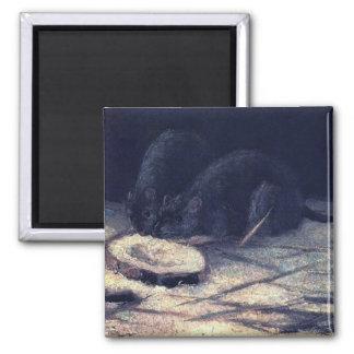 Van Gogh - dos ratas Imanes De Nevera