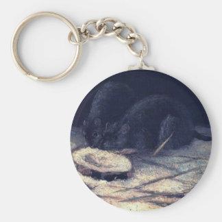 Van Gogh - dos ratas Llaveros