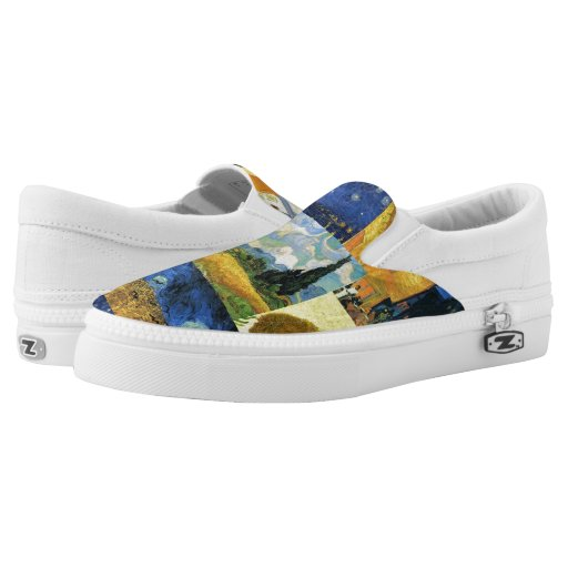 Slip On Van Printed Shoes For Women