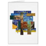 Van Gogh Dreams Quote Greeting Card