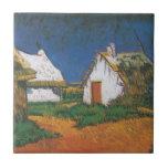 Van_Gogh_-_Drei_weiße_Hütten_in_Saintes-Maries Azulejos Ceramicos