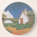 Van_Gogh_-_Drei_weiße_Hütten_in_Saintes-Maries Coaster