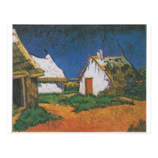 Van_Gogh_-_Drei_weiße_Hütten_in_Saintes-Maries Postcard