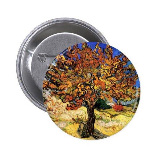 Van Gogh - el árbol de mora Pins