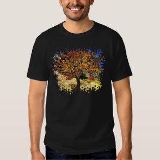 Van Gogh - el árbol de mora Playeras