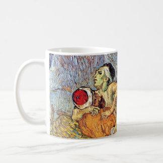 Van Gogh - el buen samaritano Taza Clásica