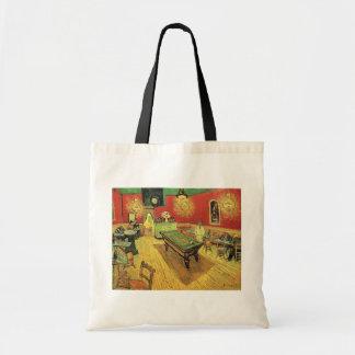 Van Gogh - el café de la noche Bolsa Tela Barata