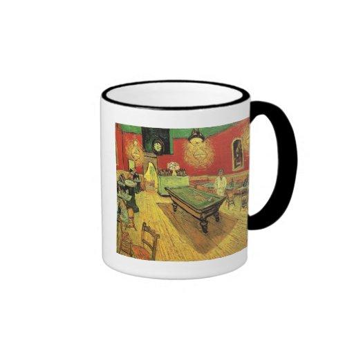 Van Gogh - el café de la noche Taza A Dos Colores
