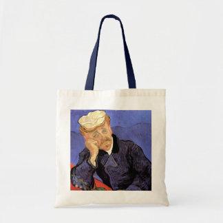Van Gogh, el doctor Gachet, arte del impresionismo Bolsa Tela Barata