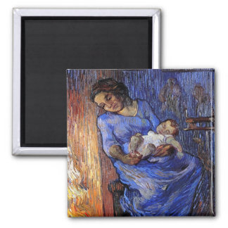 Van Gogh - el hombre está en el mar Iman De Frigorífico