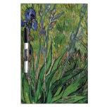 Van Gogh el impresionista del poste del vintage de Tableros Blancos