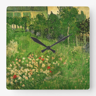Van Gogh, el jardín de Daubigny, Le Jardin de Daub Relojes